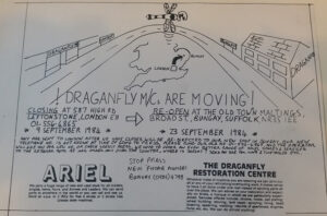 80s advert Draganfly Motorcycles moving