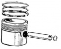 Pistons, rings and liners
