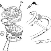 Cylinder barrel & valves