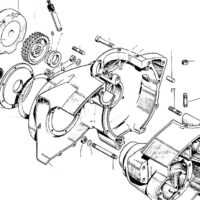 Crankcase & alternator