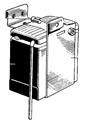 Battery carrier & air filter