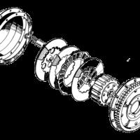 Clutch, primary chaincase