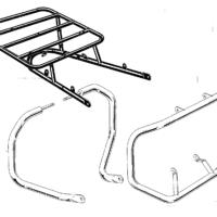 Rear Carrier & Crash Bars