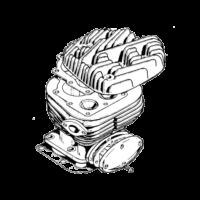 Cylinder Head & barrel