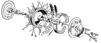 Front Wheel (not TR5T)
