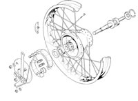 Front Wheel (TR5T)