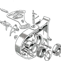 Inner primary cover - oil pump