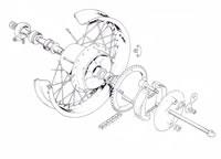 Rear Wheel (TR5T)