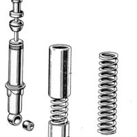 Swinging fork & suspension units