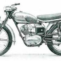 Spare & Parts For Triumph 1953-59 150-200cc Terrier & Tiger Cub Models