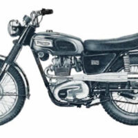 Triumph Spares/Parts For 1968-71 250 singles Models